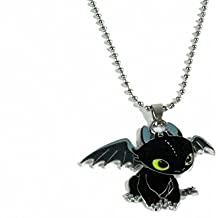How to Train Your Dragon Toothless Charm Necklace Cosplay