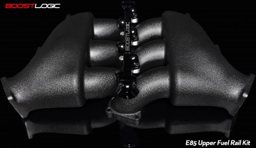 Boost Logic R35 GTR Intake Manifold w/ 12inj Option (Comes with Fuel Rail, Machining of intake manifold and all hardware)