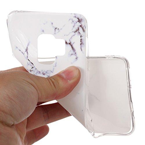 548db27d767e3 inShang Samsung Galaxy S9 Handy hülle Anti Slip Ultra Slim und leichte  weich Tasche aus TPU Material Cover Schutzhülle für Galaxy S9 2017 marble  pattern ...