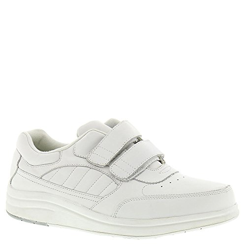 P.W. Minor Men's Performance Walker Double Strap Walking Shoes,White Glove,9.5 3E US