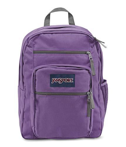JanSport Big Student Backpack - 15-inch Laptop School Pack, Vivid Lilac