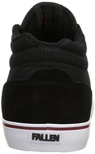 Fallen de hombre D o un Skate zapatos Black/Oxblood