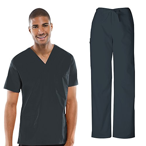Cherokee Workwear Unisex V-neck Top 4876 - Unisex Short Length Drawstring Pants Shopping Results