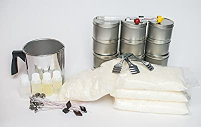 Soy Candle Making Kit from Candlewic