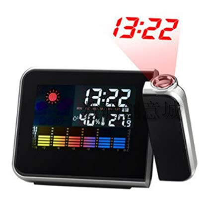 Toys & Hobbies Time Projection Led Temperature Humidity Weather Snooze Multi-function Clock Weather Forecast Station Calendar & Time In Many Styles