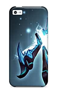 Ultra Slim Fit Hard Esther Bedoya Case Cover Specially Made For Iphone 5c- League Of Legends