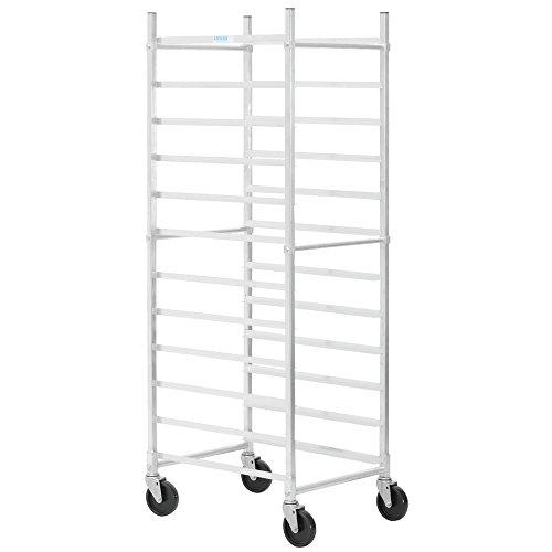 HUBERT End Load Bun Pan Rack For 12 Pans Aluminum - 26