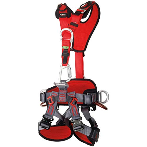CAMP GT ANSI Fullbody Climbing Harness Size 1 Small to Large ANSI Certified 2017 ()