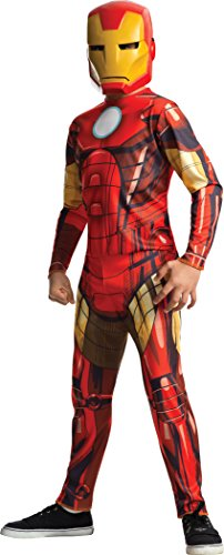 [Rubies Marvel Universe Classic Collection Avengers Assemble Iron Man Costume, Child Medium] (Ironman Costumes Child)