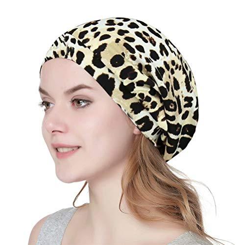 (Unisex Chic Cap for Natural Hair, Curly Long Hair, Frizzy Hair, or Deadlocks)