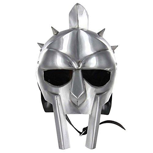 Gladiator Maximus Armor Helmet Adult Accessory (Halloween Gladiator Accessories)