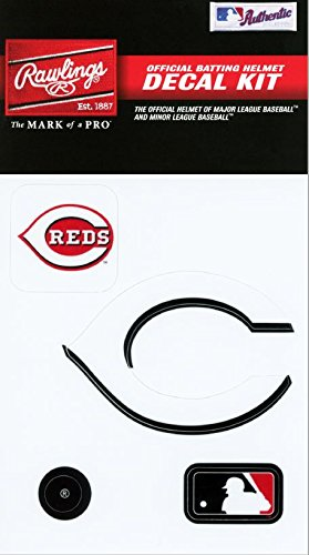 Sports Cincinnati Reds Baseball (Rawlings Sporting Goods MLBDC Decal Kit, Cincinnati Reds)