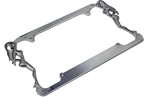 - Motorup America Auto License Plate Frame Cover - Two Dancers Fits Select Vehicles Car Truck Van SUV
