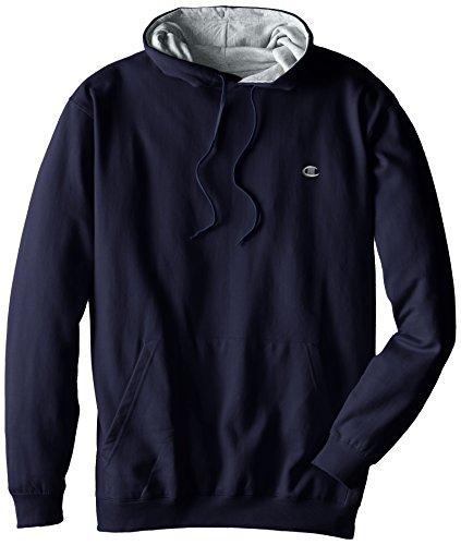 all Fleece Pullover Hoodie, Navy, 5X ()