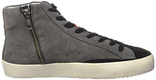Ishikawa High, Sneaker a Collo Alto Unisex-Adulto grigio