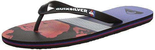 Sandals Molokai Black Quiksilver Lava Red Division Blue taPqt70wW