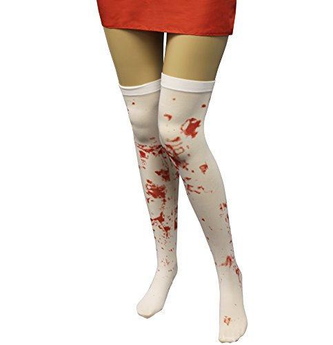 Bloody Tights - Zombie Accessories - Halloween Thigh Highs - by Funny Party Hats