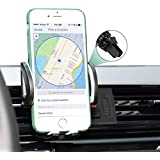 Phone Holder for Car, Car Phone Mount 360° Rotation Air Vent Cell Phone Car Mount for iPhone X 8 8 Plus 7 7 Plus 6s 6 Plus 5s Samsung Galaxy S9 S8 S8 Plus S7 S6 and More Smartphones