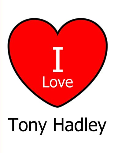 I Love Tony Hadley: Large White Notebook/Journal for, used for sale  Delivered anywhere in USA