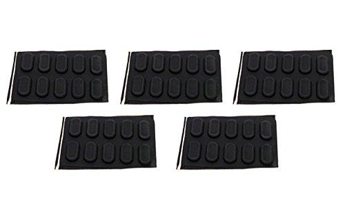 Genuine Dell Latitude 120L D410 D420 D430 D620 D630 Case 50-Piece Bottom Rubber Feet Laptop Notebook Stickers Compatible Part Numbers: R6536, 0R6536