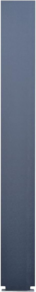Black Solid Plastic Polymer 40-90870595-9205 5 W X 82 H Pilaster wtih Trim Shoe Global Steel