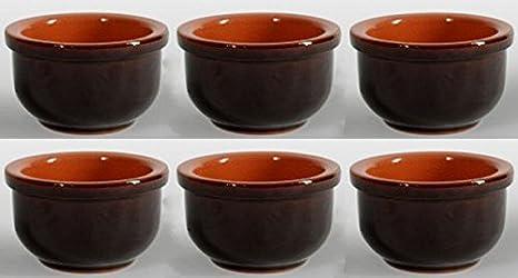 Oferta 6 cuencos para vinagreta Terre dUmbria, cerámica, cocina, salsas,