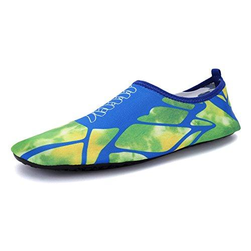 Kivors Zapatos De Deporte Acuático Al Aire Libre Para Mujer Y Verano Zapatos De Yoga Acuático Descalzo Para Baño Seco Slip-on Para Nadar Surf En La Playa Mapa De Ejercicio De Yoga