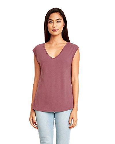 Sleeveless T-shirt Ringspun (Next Level Women's Festival Sleeveless V - 5040)