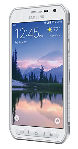Samsung Galaxy S6 Active G890A 32GB Unlocked GSM 4G LTE Octa-Core Smartphone w/ 16MP Camera - White