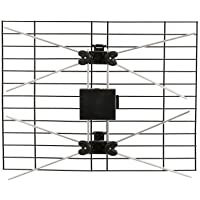 Indoor Outdoor TV Antenna - Dual Bowtie Bay HDTV Antenna
