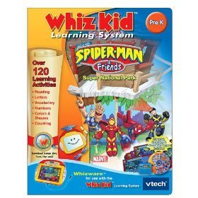 V Tech - Whiz Kid CD- Spider-Man & Friends