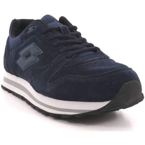 NVY 8 42 UK 5 USA Blu 9 Sneaker Herren Blau UE 5 Lotto 5 6SIqBH