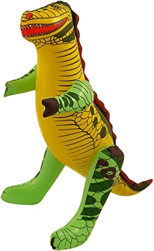 fashioncrazexx Dinosaurio inflable inflable de 43 cm, accesorio de ...