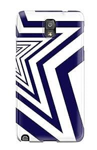 DavidMBernard Case Cover For Galaxy Note 3 - Retailer Packaging Dallasowboys Fy Protective Case