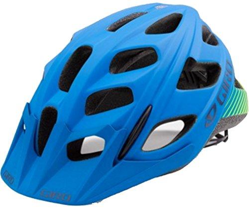 Giro Hex Helmet - Men's Matte Blue/Lime Small