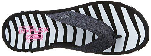 blanco Sandalias marino Flex Go Azul Negro Skechers 14258 vitalidad n8RA6q