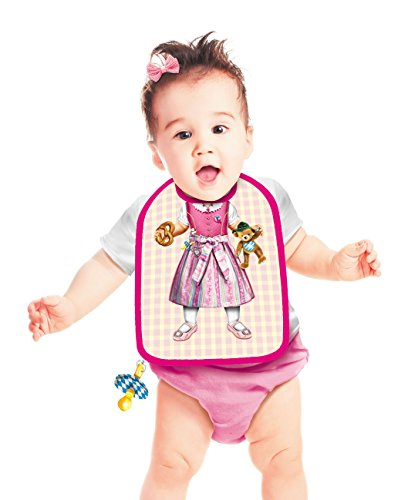 [Bavarian traditional costume look bib (Dirndl) for girl] (Dirndl Costume)