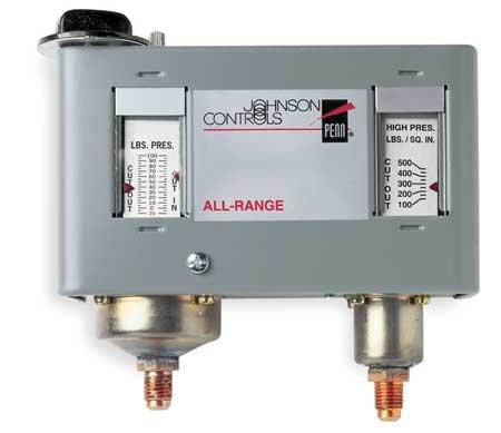 Johnson Controls P170SA-1C Dual Pressure Control, 2 SPDT