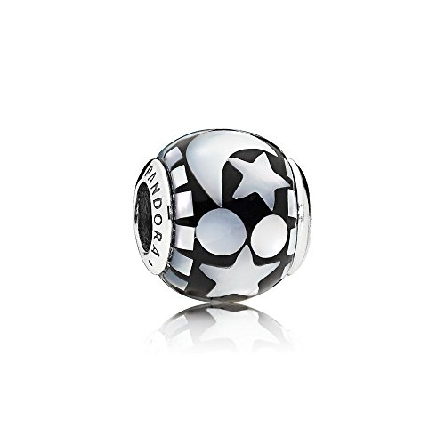 Pandora Celestial Mosaic Multicolored Charm with Mother-of-Pearl 796400MMB