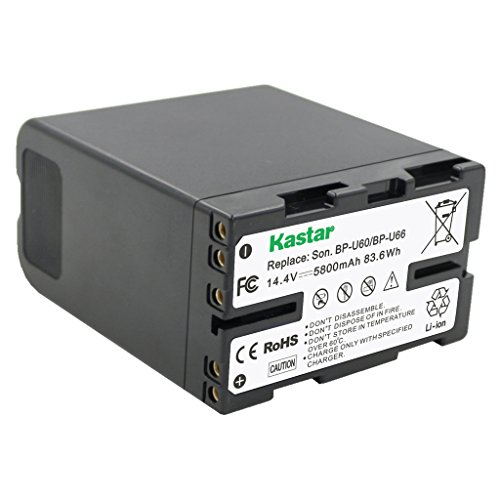 41Fm35w8O5L - Kastar BP-U66 Battery (3X) for Sony BP-U90 BP-U60 BP-U30 and PXW-FS7/FS5/X180 PMW-100/150/150P/160 PMW-200/300 PMW-EX1/EX1R PMW-EX3/EX3R PMW-EX160 PMW-EX260 PMW-EX280 PMW-F3 PMW-F3K PMW-F3L Camcorders