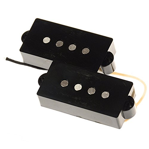 Bare Knuckle '58 P-Bass Split Coil Pickup Set Black (Split Coil Pickups compare prices)