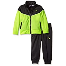 PUMA Boys' Pop Color Track Jacket and Pant Set