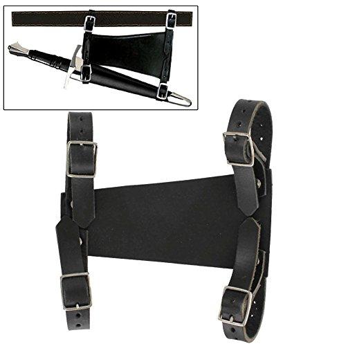 Medieval Leather Back Hanger Dagger Frog
