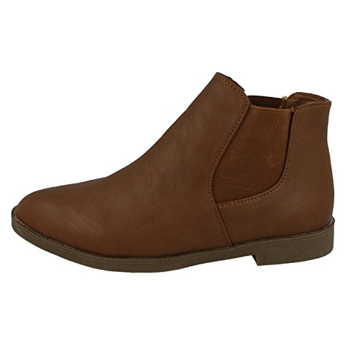 Spot On ,  Damen Chelsea Boots Braun
