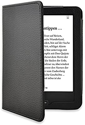 Funda Carcasa Cover Tolino Vision 2 3 4 HD eBook Reader Case Negro ...