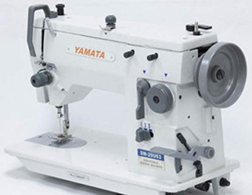 Yamata Industrial Sewing Machine 20u Zig Zag & Straight 9 mm Servo Motor Singer tupe Table.Assembly required.DIY