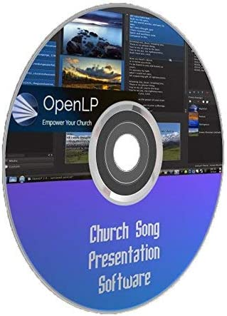 Church Service Song Display Verses Lyrics Projector Presentation Windows Mac PC Computer Software 41Fm44Gh2OL