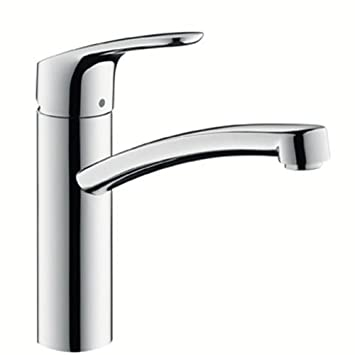 Amazon.com: Hansgrohe Focus Single Lever Kitchen Mixer for Vented ...