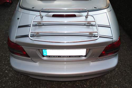 Volvo Chrome Luggage Rack C70 C70 | Tailor Made & Perfect fit | TÜV Tested | OEM Quality