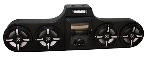 Froghead Industries AMPHIB754CLE stereo for Canam Maverick w/ LED speakers and digital media locker by Froghead Industries